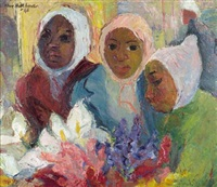flower sellers by may (mary ellen) hillhouse