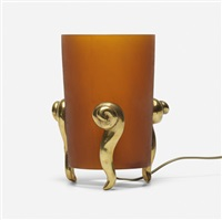 cleopatre table lamp by elizabeth garouste and mattia bonetti