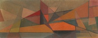 abstract landscape by john f. leonard