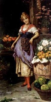 la marchande de fruits by f. avilo