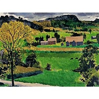 green fields vermont by kenneth shopen