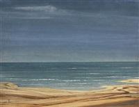 meer mit strand by franz lenk