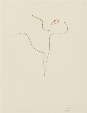 danseuse acrobate pl12 by henri matisse