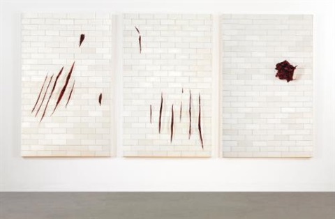 trois petites morts in 3 parts by adriana varejão