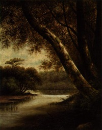 mississippi river landscape by augusta s. bryant