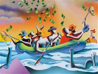 the green effect by mark kostabi
