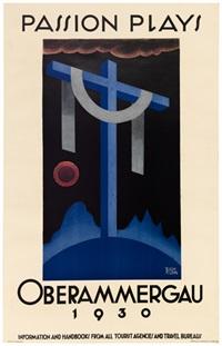 passion plays/oberammergau by richard klein