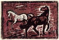 pferde by georg saatzer