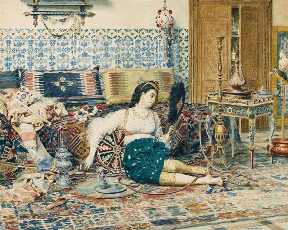 la belle orientale by marie françois firmin girard
