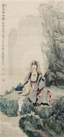 a buddism goodness guanyin by xia jingshan