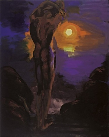 mondnacht by rainer fetting