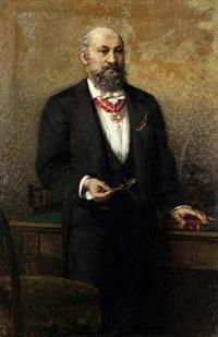 ritratto del commendatore a. salviati by egisto lancerotto