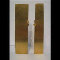 untitled (rectangle form) (in 2 parts) by charles daudelin
