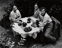 chagall family, paris by andré kertész
