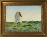den tilsandede kirke - church at skagen by ella heide