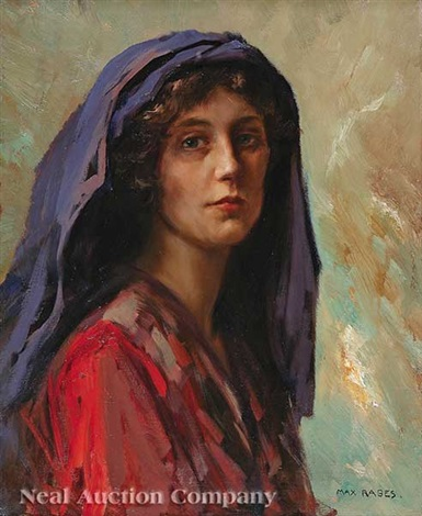 woman of the levant study by max friedrich rabes