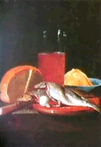 nature morte au hareng by simon luttichuys