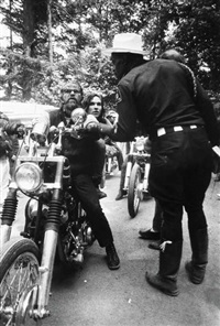 untitled (hells angels) by dennis hopper