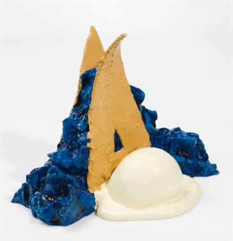 paradise pies ii and vi ii 36 blue by coosje van bruggen and claes oldenburg