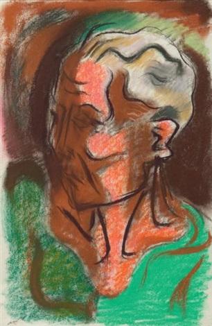 portrait de georges limbour by andré masson