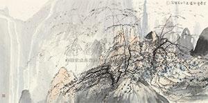 佳景赏宗图 by zhu daoping
