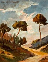 paisaje by pedro de valencia