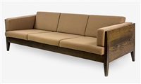 framed 3-seater sofa by marcel wanders