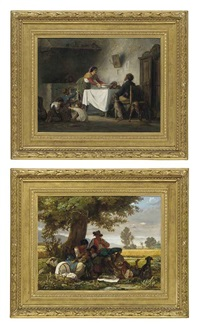a family meal (+ the picnic; pair) by arnoldo corrodi