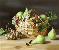 grapes and pears by boris leifer