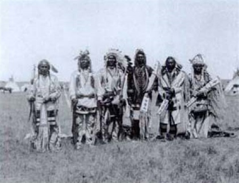 brave dogs society blackfoot indians by harry pollard