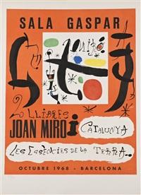 2 llibres: joan miró i catalunya - les essències de la terra by joan miró
