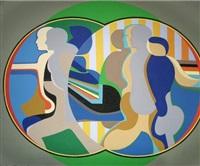 mirror image (green) by arnold belkin