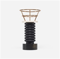 ringhiera rossa vase from the bharata series by ettore sottsass