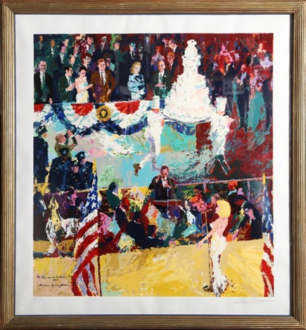 Happy Birthday Mr President By Leroy Neiman On Artnet