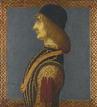 profile of a man by alesso baldovinetti