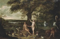 the fall of man in the garden of eden by isaac van oosten