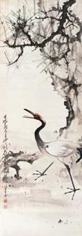 松鹤延年 by zhao shaoang