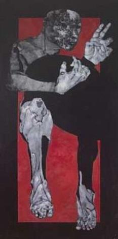 mannsfigur by benjamin bergmann