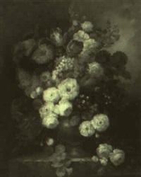 floral still life by francois gabriel