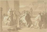 mythologische szene by robert von langer