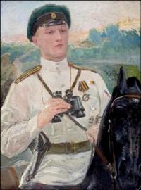 venäläinen luutnantti by yuri il'ich repin