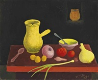 nature morte aux légumes by jean hugo