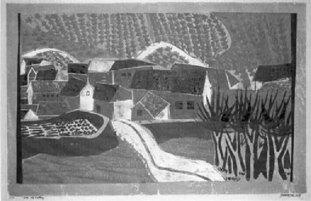 into the valley by antonio frasconi