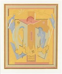 crucifixion by albert gleizes