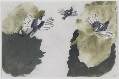 magpies by mary newcomb