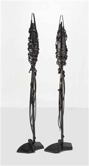 table lamps (pair) by albert paley