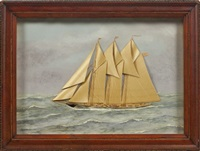 schooner by thomas h. willis