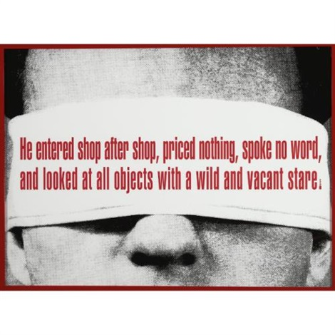untitled poe by barbara kruger