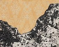 mountain in bedroom by enrico baj