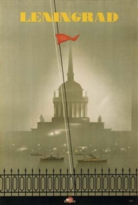 leningrad (by h. wykob) by posters: soviet
